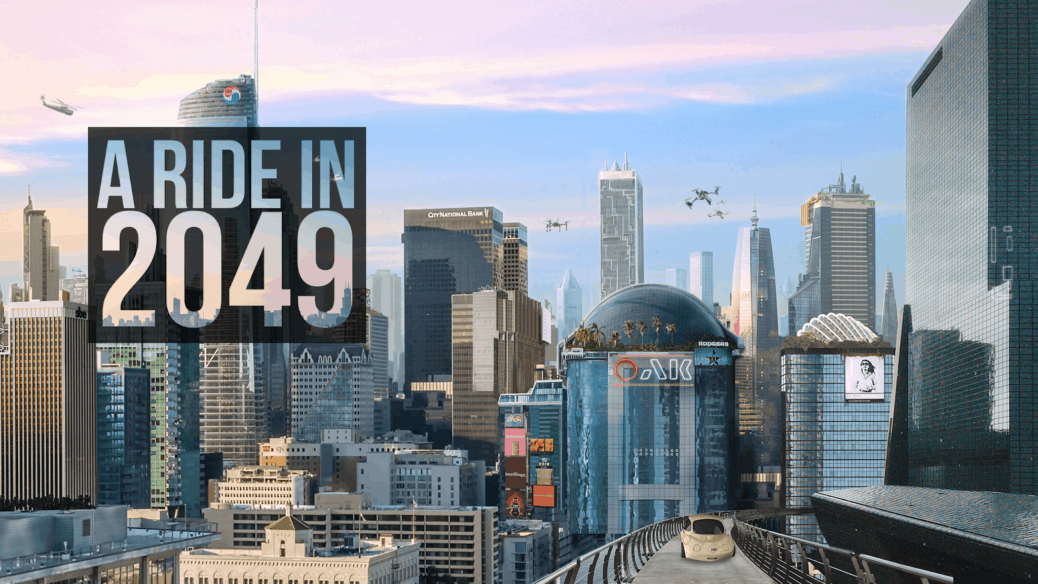 smart cities and mobility - a ride in 2049