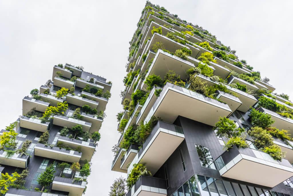 smart buildings - bosco verticale in milan